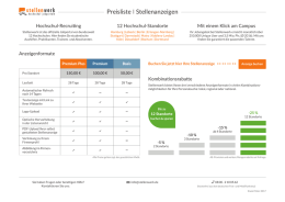 Stellenwerk Preisliste 2017 - Universität Hamburg Marketing GmbH