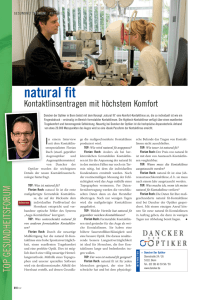 natural fit - Dancker