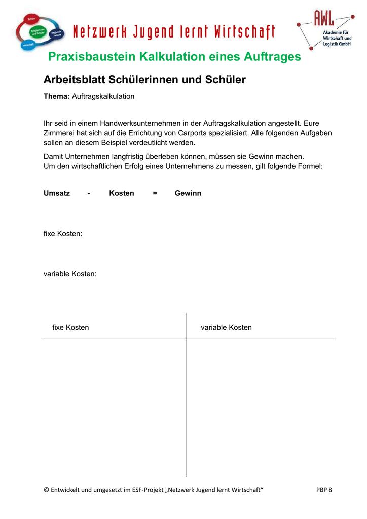 Fancy Wirtschaft Arbeitsblatt Für Schüler Sketch - Kindergarten ...