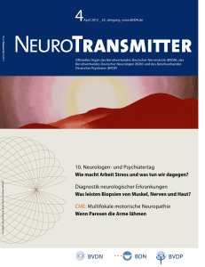 NeuroTransmitter vom April 2012