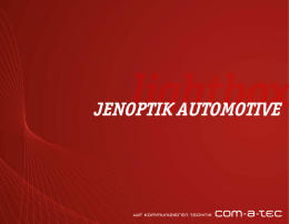 jenoptik automotive - com-a-tec