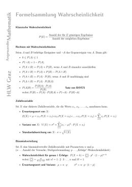 aufgaben wahrscheinlichkeitsrechnung klasse 8