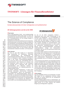 The Science of Compliance