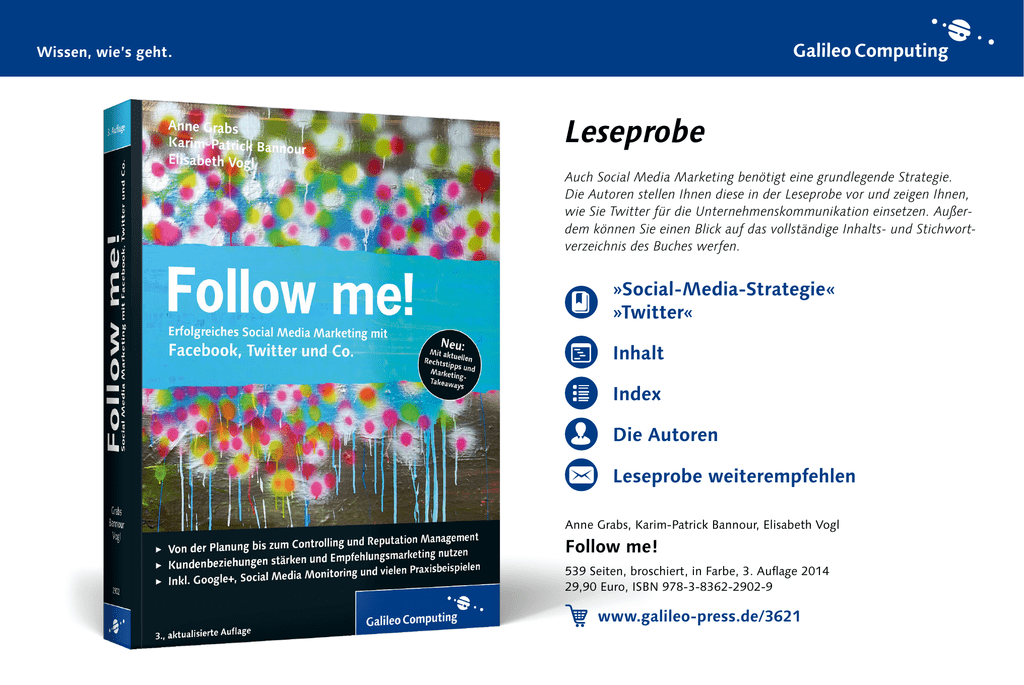 follow me! \u2013 erfolgreiches social media marketing mit facebookAbout Landing Page View Optimization For Facebook Ads Facebook  346538 #21