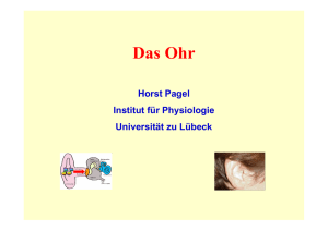 H. Pagel - Institut für Physiologie