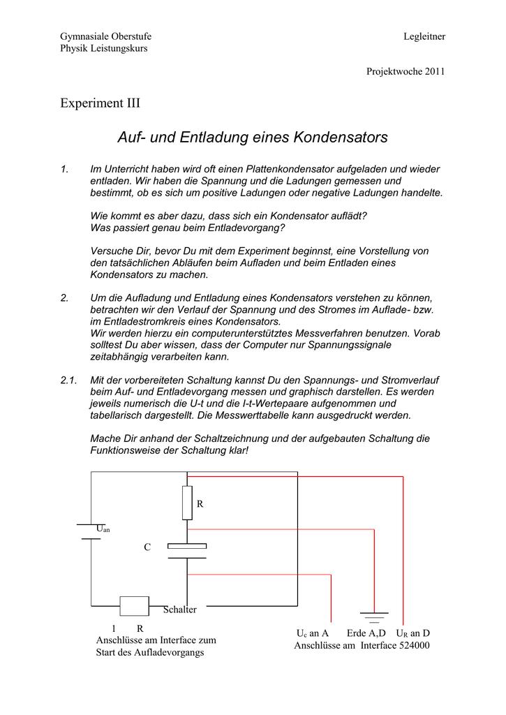 Niedlich Schaltungsphysik Zeitgenössisch - Schaltplan Serie Circuit ...