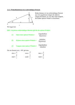 trigonometrie 1 teil tr1. Black Bedroom Furniture Sets. Home Design Ideas