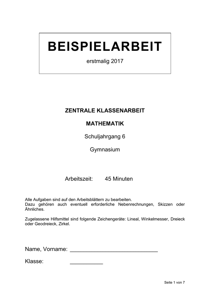 Erfreut Druckbare Th Klasse In Mathe Kinder Einer Tabelle 4. Pdf ...