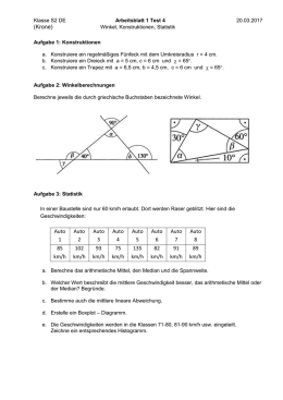 Geometrie – Inklusionsmaterial 4