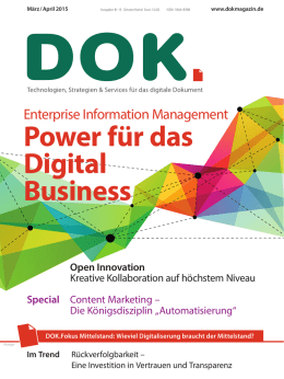 Power für das Digital Business