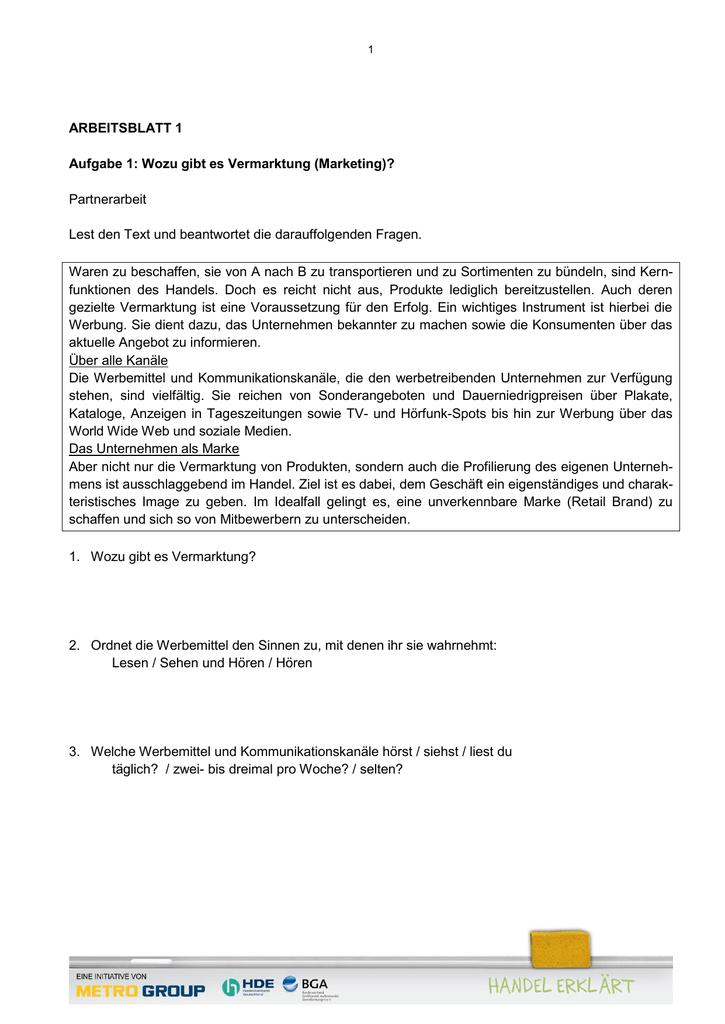 Arbeitsblätter, PDF 0,17 MB