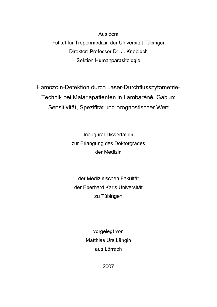 material und methodenteil dissertation