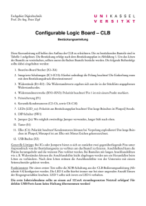 Configurable Logic Board – CLB