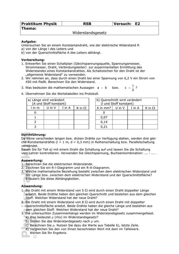 der Aufgabenstellung als PDF
