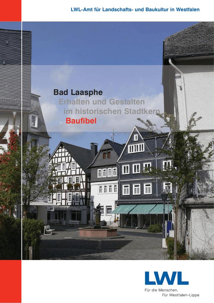 Bad Laasphe Erhalten und Gestalten im historischen