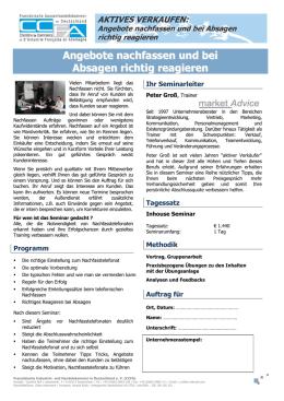 Checkliste Für Nationalen Schnuppertag Am 1403