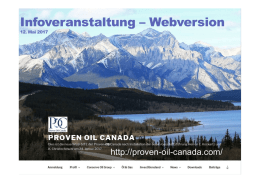 Infoveranstaltung – Webversion