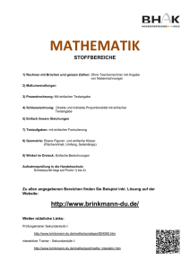 mathematik - Medienhak