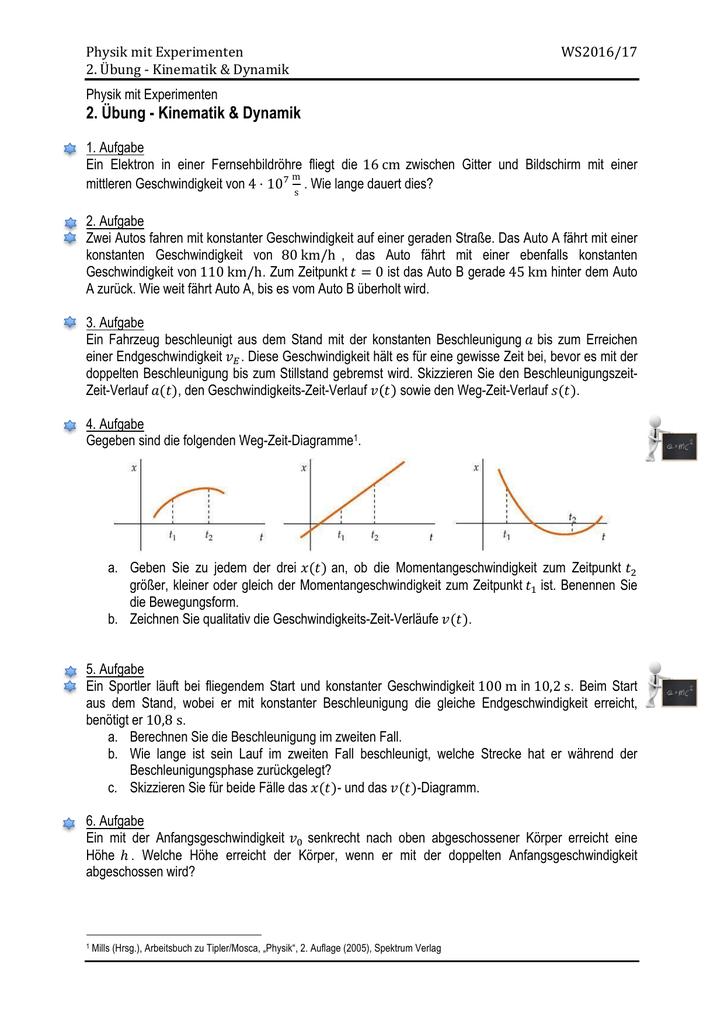 Ue02 - Kinematik und Dynamik