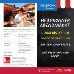 Flyer - Heilbronn Marketing