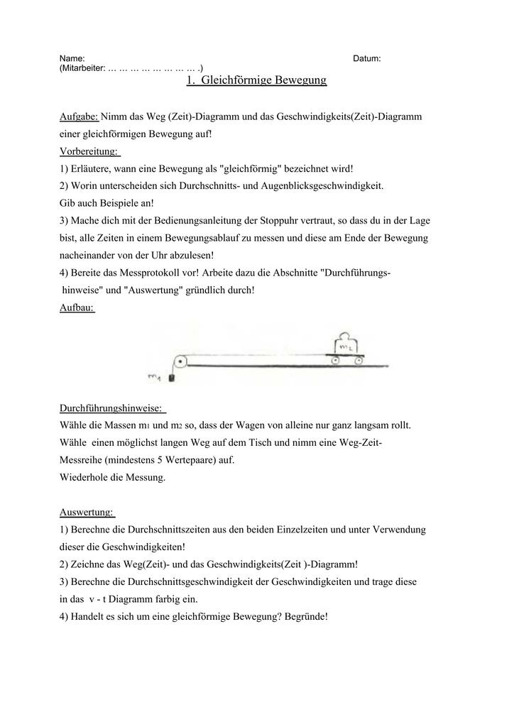 Praktikumsaufgaben 1 bis 4