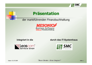 Präsentation - Leascom Software GmbH