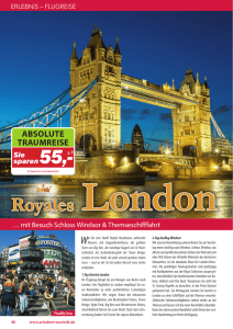 London Royales - bei Schubert Touristik