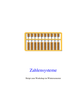 Skript zum Workshop