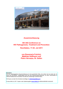 6th IAS Conference on HIV Pathogenesis, Treatment and