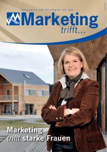 Marketing trifft starke Frauen