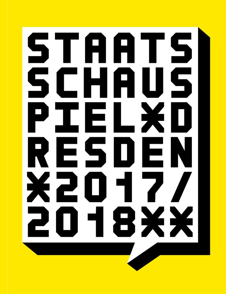 Spielzeitbuch 2017/2018 - Staatsschauspiel Dresden