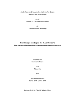 Masterthesis_Klemens_Hoffmann - Andreas Tobias Kind Stiftung