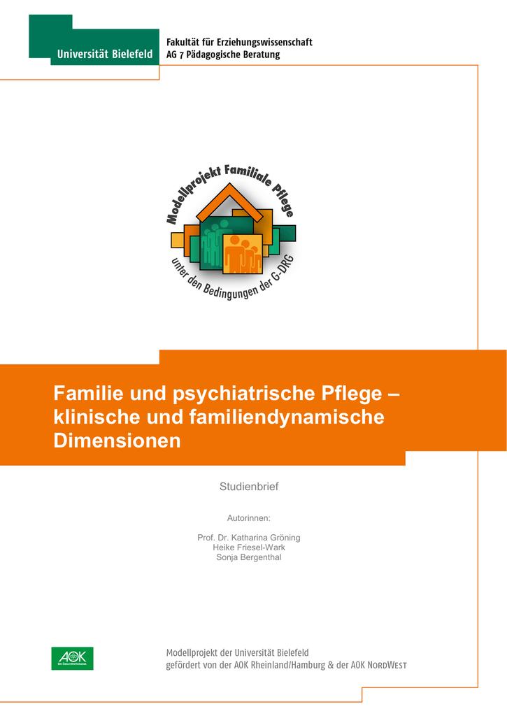 Familie und psychiatrische Pflege – klinische