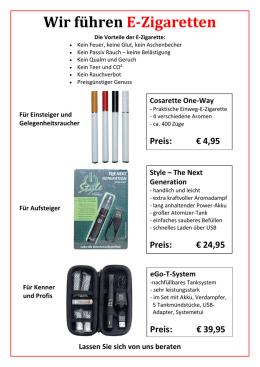 beispiele fr irrefhrende werbung fr e zigaretten wir fhren e - Irrefuhrende Werbung Beispiele