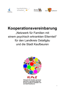 Kooperationsvereinbarung