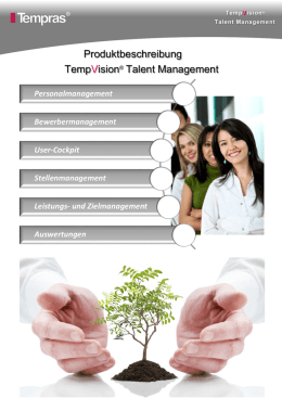TempVision Talent Management