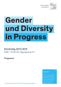 Gender und Diversity in Progress