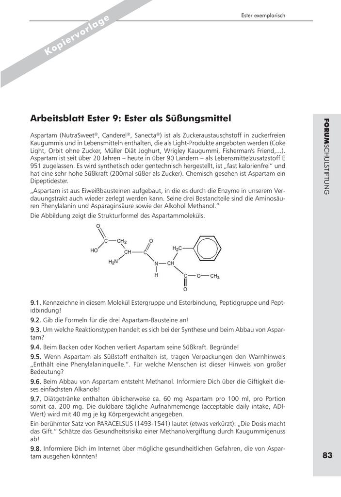 Fantastisch Reaktionstypen Arbeitsblatt Antworten Zeitgenössisch ...