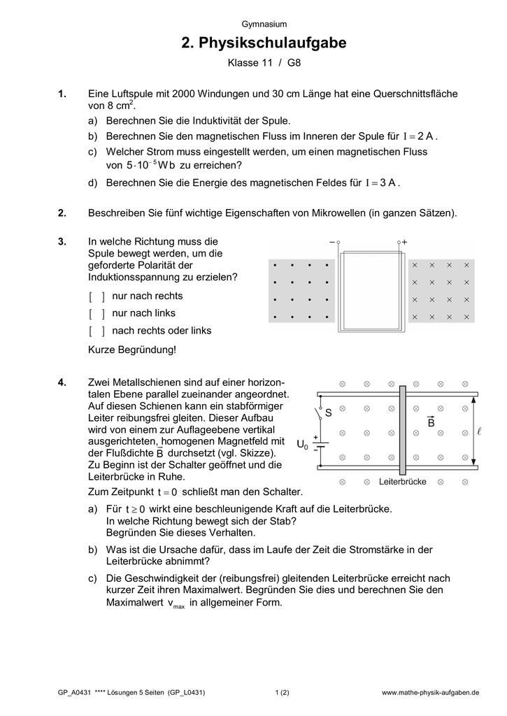 gp a0431 mathe physik. Black Bedroom Furniture Sets. Home Design Ideas