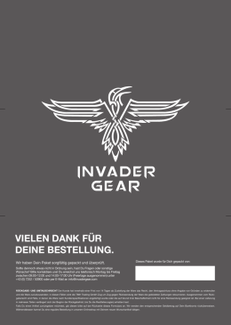 Return Form - Invader Gear