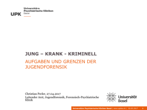 Jung – krank - kriminell UNTERTITEL