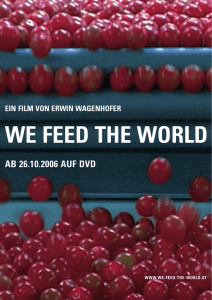 - We feed the world