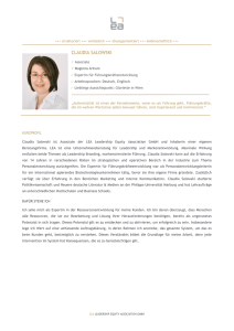 Profil-Claudia Salowski - leadership