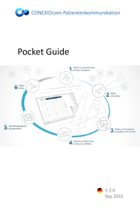 Pocket Guide - KaVo. Dental