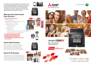 Smart Photo Printer - Mitsubishi Electric Photo Printing Solutions
