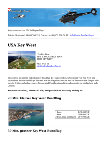 USA Key West - Hubschrauberflug.at