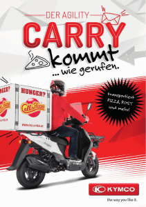 KYMCO Agility Carry 50 - Transportroller