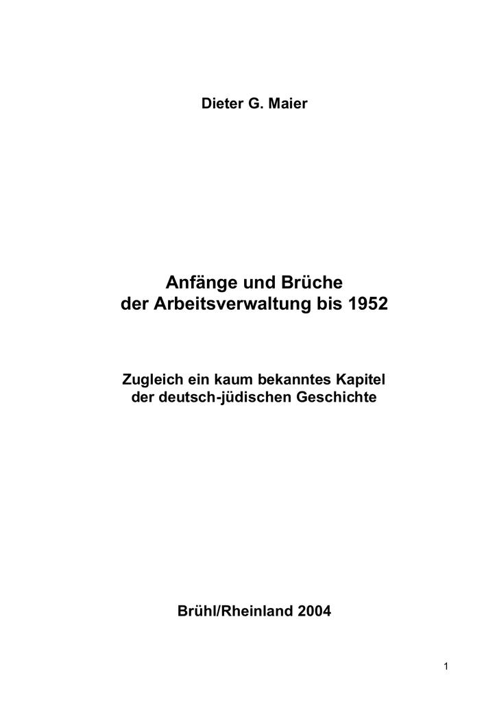 Dokument 1 - Die SUB Hamburg betreut edoc.vifapol.de, nimmt