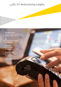 EY Restructuring Insights