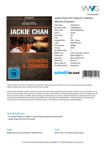Jackie Chan Ltd. Collector`s Edition - Winners